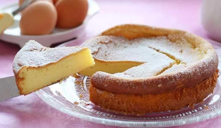Gâteau au mascarpone et vanille crémeux