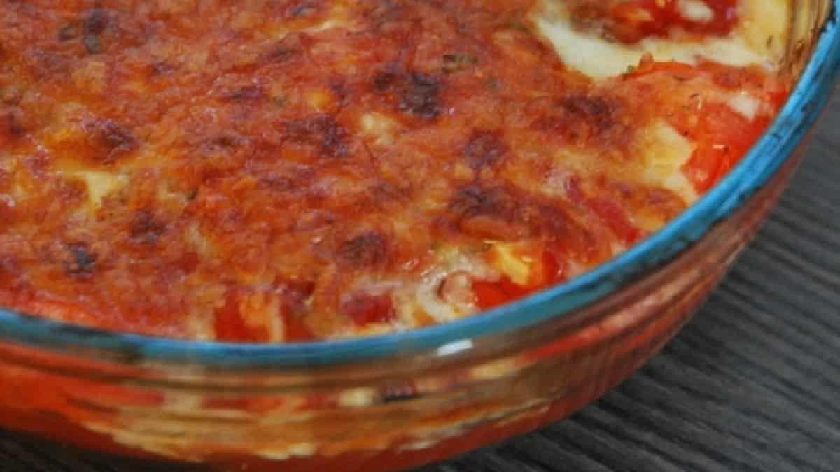 Recette Gratin d'aubergines et courgettes à la mozzarella
