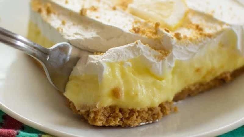 Gâteau au fromage au citron sans cuisson un vrai délice