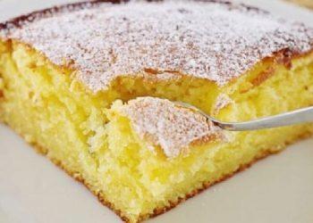 Le gâteau sans œufs et sans lait