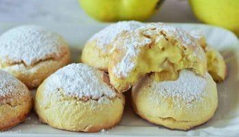 Biscuits crémeux aux pommes