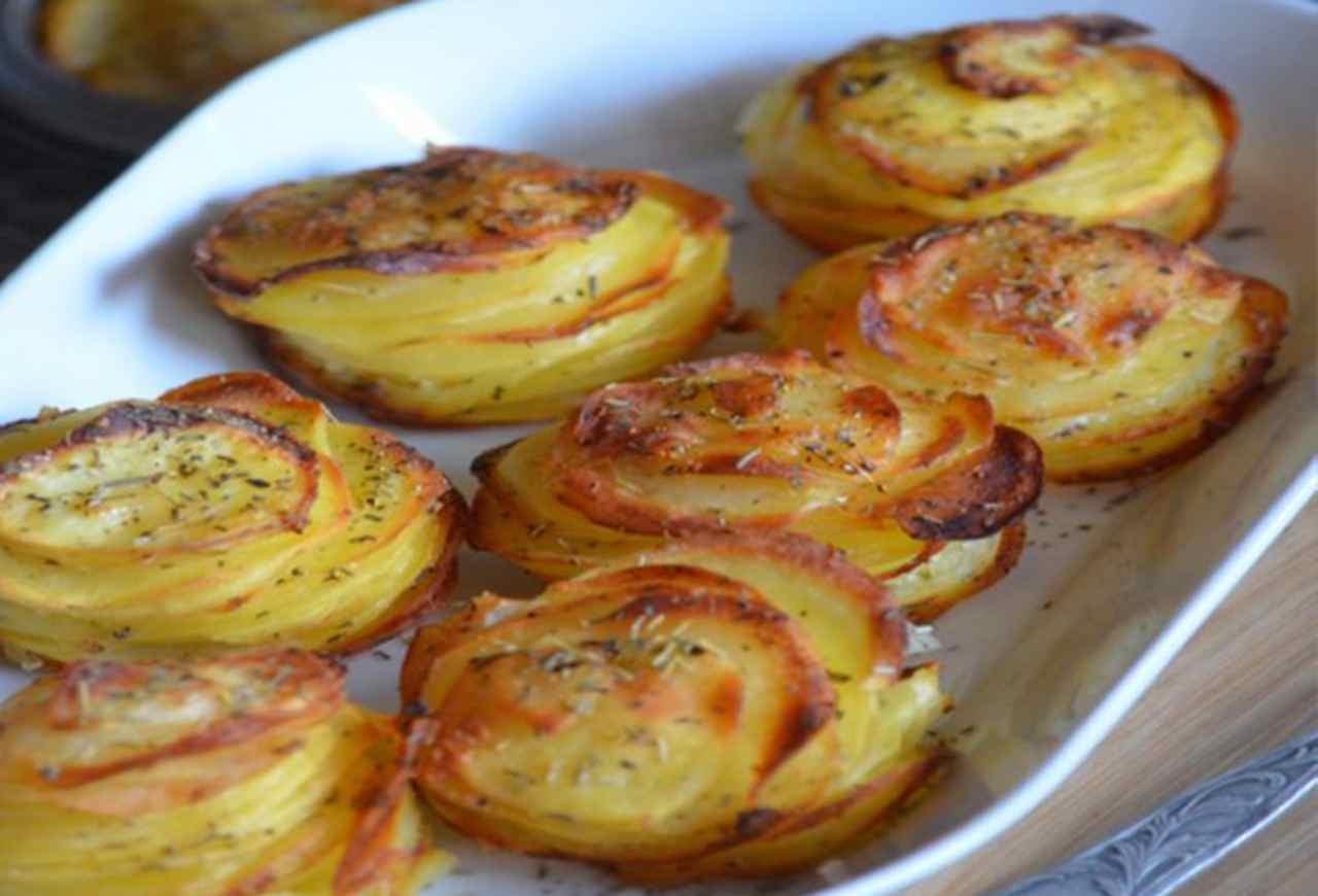 Millefeuilles de pommes de terre